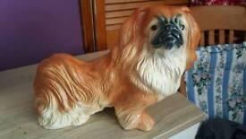 Pekingese Dog Figurine Statue