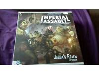 Star wars imperial assault JABBAS REALM EXPANSION PACK