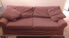 TO GIFT!! 3 seater sofa and matching chair