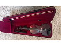 Violin full size 4/4 deep metallic purple