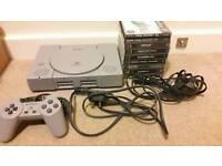 Playstation Console & Games Bundle