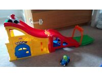 Fisher Price fold away race track
