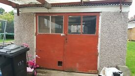 Sectional Concrete Garage 3.8m x 5.55m x 2.1m (H)