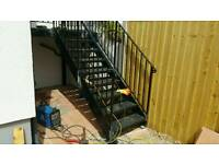 Welder & steel Fabrication services bespoke railings, Gates, furniture and others