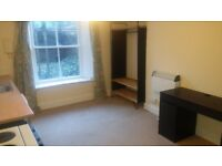 Clifton large furnished studio bedsit £115pw, ready now