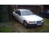 BMW 316 1993 SORN!!!!!!!!!!!!!!!!!!!!!!!!!!!! swap for scooter or £250 cash