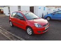 FORD FIESTA 1.25 Style 5dr (red) 2007