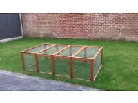 Large outdoor run for rabbits/guinea pigs