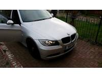 BMW 320D SE ESTATE IN TITANIUM SILVER 2007