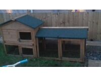 Rabbit hutch good clean used condition comes in 2 parts pick up only