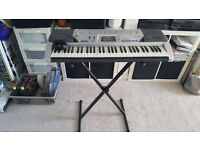 Casio CTK 496 with stand