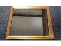 Mirror - timber frame
