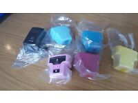 Over 30 Assorted compatible inks (Black, magenta, light magenta, yellow, cyan, light cyan)