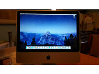 "iMac 20"" 2.4ghz Core 2 Duo. 4gb Ram. 250gb HDD, Ati Radeon HD Graph. Excellent Cond. Latest Software"