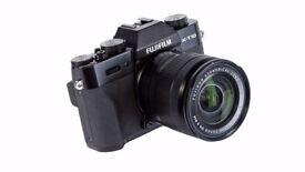 Fuji X-T10 camera with 16-50mm lens