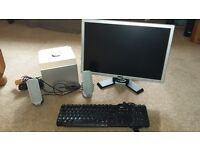 Dell Monitor, Keyboard & Speakers with Subwoofer