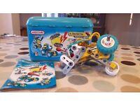Meccano Set 3 Motorised Construction Box - fantastic gift Age 5-8!