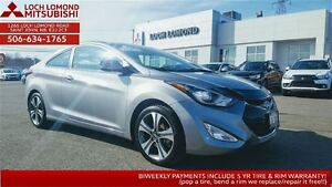 2014 Hyundai Elantra Coupe GLS - LOADED for only $130 Biweekly