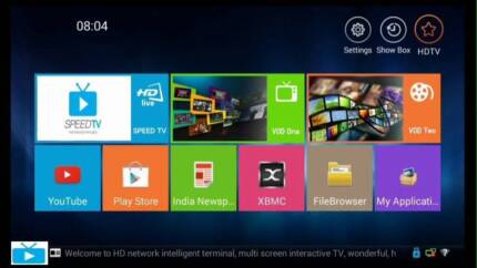 SPEEDTV Indian Tv Box better then Real TV, Jadoo, Shava, Live tv Melbourne CBD Melbourne City Preview