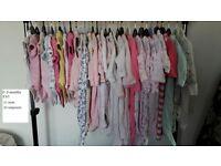 baby girl clothes bundles x4