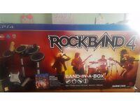 Rockband 4 (band in a box) £100 OVNO