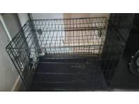 Large dog cage crate as new only used for 2 weeks