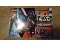 Vintage Star Wars Micro Machines Vader Lightsaber / Death Star Trench BNIB 1996