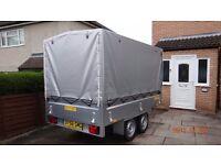 Brand NEW Car Box Trailer TWIN AXLE 1300 kg BRAKED !!! 263cm x 145cm