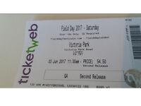 Field Day Festival London 2017 Ticket