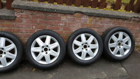 16 INCH ALLOY's , VW , SKODA , AUDI ,SEAT 5 x 112