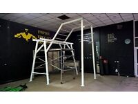 Custom made commercial functional Boxing, fitness, Calisthenics Rig. Gym/ Exercise