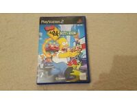 PS2 - Playstation 2 - The Simpsons Hit & Run