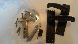 Blank Iron Door Handle - brand new