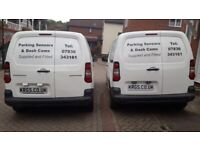 Parking sensors supplied and fitted £125 colour coded to the vehicle