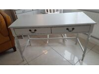 Console Table Desk Side Table Painted