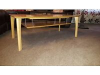 Light solid wood Coffee table