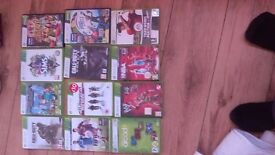 Selection of xbox 360 games will sell as a hole or individual offers.