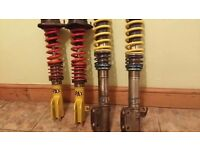 Subaru Impreza Coilovers SPAX and OHLINS Turbo Classic JDM