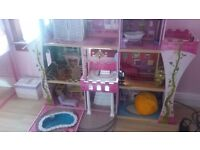 large dolls house 4foot x4foot