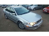 Volvo S40 2.0 4dr, CAMBELT REPLACED, FULLY LOADED, FSH, FULL LEATHER INTERIOR, HPI CLEAR, LONG MOT