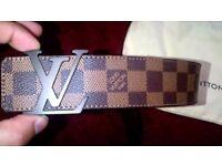 LV Belt Brown medium