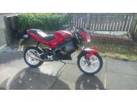 Gilera dna 50cc fitted with a 70cc bigbore kit