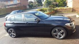 BMW 1 Series 1.6 114i Sport … 2014 (14 reg), Black, 19,500 miles NO TRADE - PRIVATE SALE ONLY
