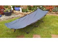 QUEST TRAVELLER COMPACT FOLDING CAMP BED x2