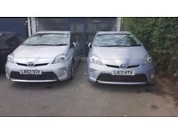 READY UBER CARS FROM £99 / WEEK FOR RENT. TOYOTA PRIUS/TOYOTA AURIS/7 SEATER CARS. WITH INSURANCE.