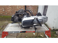 Vespa Gt Gts 125 Engine Complete With Carburettor