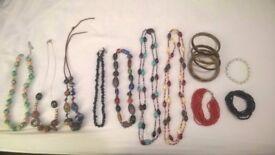 necklaces, bracelets, jewellery, beads, crafts