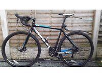 Boardman Cx comp cyclo-cross bike.