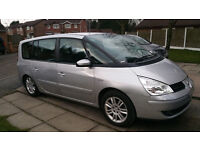 disable wheelchair access diesel renault grand espace with very low millage only 66000