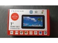 """PROSCAN 7"""" INTERNET TABLET"""